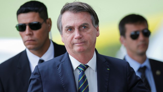 Foto: Jair Bolsonaro, presidente de Brasil. Reuters