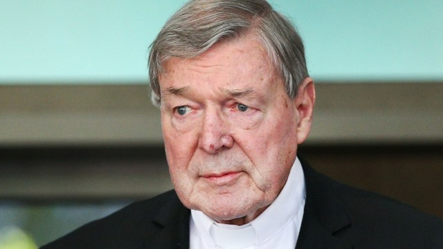 Foto: George Pell, cardenal australiano. Getty Images/Archivo