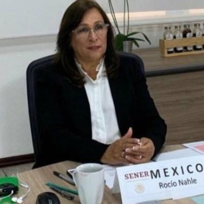 Foto: Rocío Nahle, titular de la Secretaría de Energia (Sener) de México. Twitter