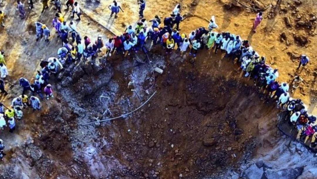 Fotos: Confunden caída de meteorito en Nigeria