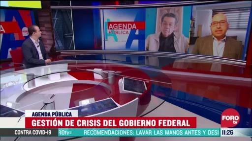 FOTO: 5 de abril 2020, gestion del gobierno de amlo ante crisis del coronavirus