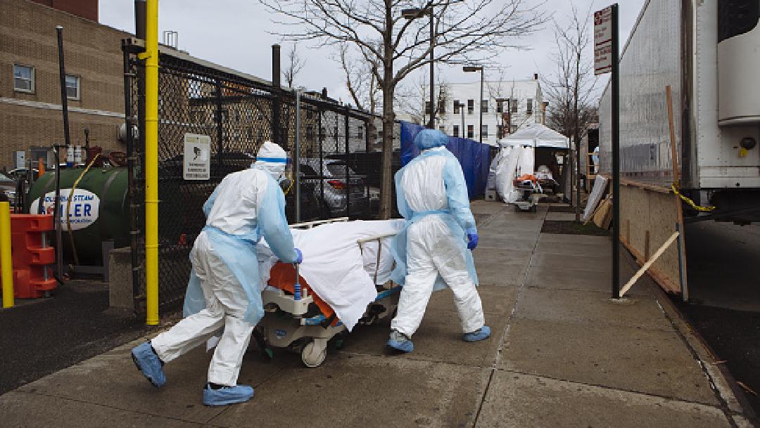 Estados Unidos registra mil 400 muertes en un día por coronavirus