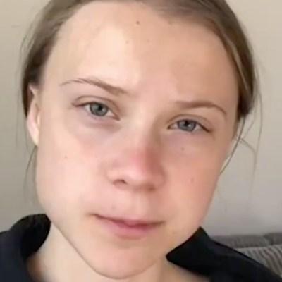 Greta Thunberg dona a UNICEF 100 mil dólares de un premio para la lucha contra el coronavirus