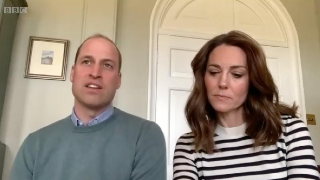 William y Kate señalaron que en este confinamiento es vital estar en contacto con los seres queridos. (Foto: BBC)