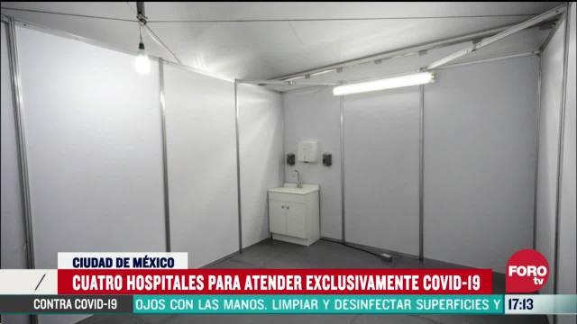FOTO: habilitan cuatro hospitales exclusivos para atender coronavirus en cdmx