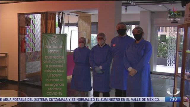 hoteles en la cdmx ofrecen servicio gratis a personal medico que atiende coronavirus