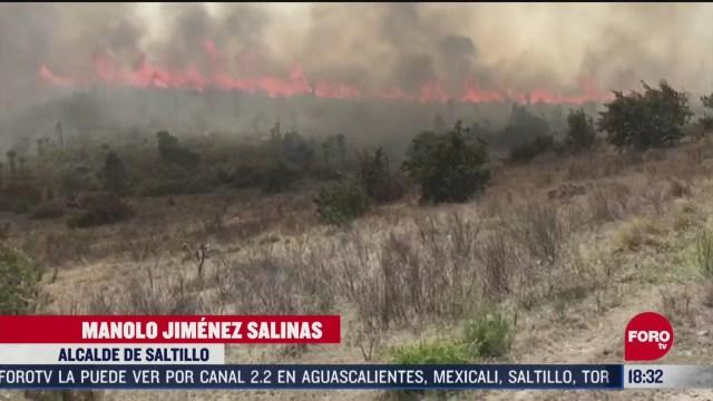FOTO: incendios forestales afectan a coahuila