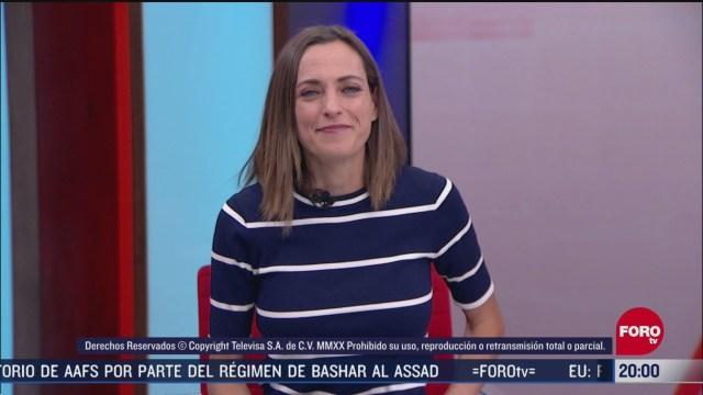 Foto: Las Noticias Ana Francisca Vega Programa Completo Forotv 8 Abril 2020