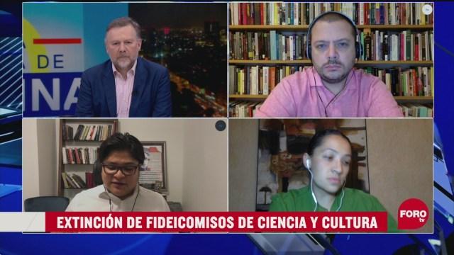Foto: reacciones de ciencia y cultura a la extinción de los fideicomisos 21 Abril 2020