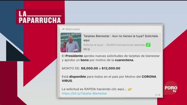 Foto: Las Supuestas Ayudas Por El Coronavirus Noticias Falsas 1 Abril 2020