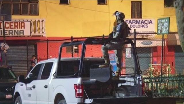 Balacera deja cuatro muertos y tres heridos en calles de la la alcaldía Tlalpan, 15 abril 2020