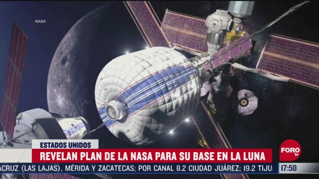 FOTO: nasa revela plan para instalar base en la luna
