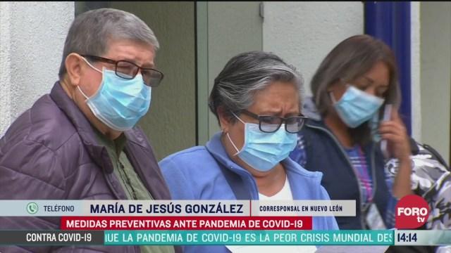FOTO: nuevo leon suma 76 casos confirmados de coronavirus