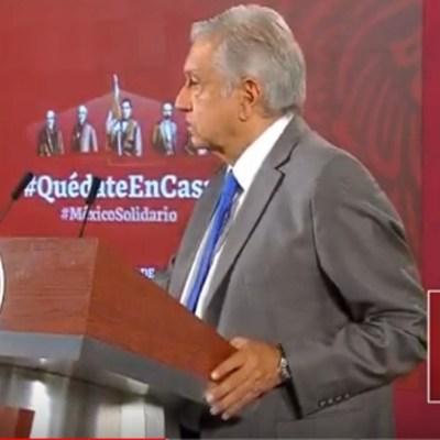 Foto: AMLO pide a partidos donar mitad de presupuesto por coronavirus