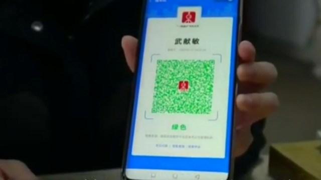 Foto: Tecnología contra el coronavirus COVID-19 en China