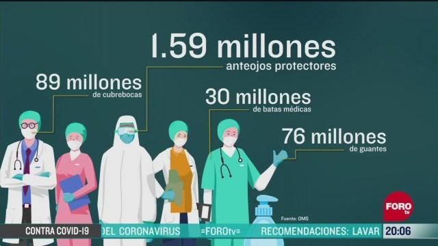 Foto: Coronavirus Oms Envía Equipos Protección Médicos Pandemia Covid19 8 Abril 2020