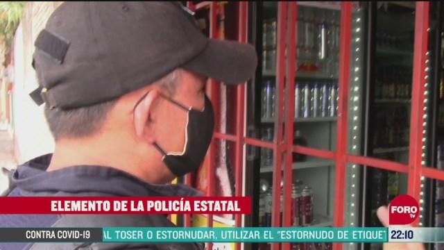 FOTO: 26 de abril 2020, policia y ejercito llaman a pobladores de chilpancingo a mantener la sana distancia