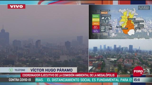 FOTO: por que hay mala calidad del aire en el valle de mexico