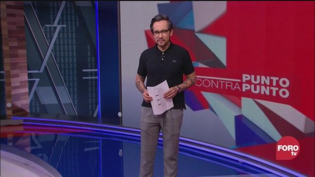 Foto: Punto Contrapunto Genaro Lozano Programa Completo 2 Abril 2020