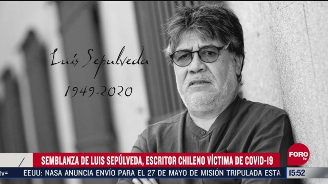 FOTO: quien era luis sepulveda escritor chileno victima de coronavirus