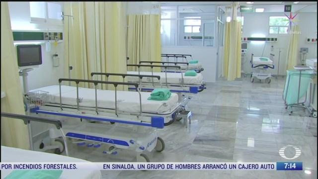 recorrido por el hospital general de zona numero 32 del imss