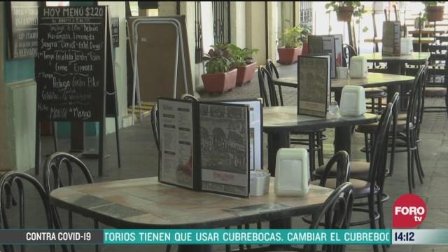 FOTO: restaurantes en cdmx restringen servicio por el coronovirus