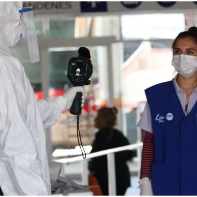 Imagen: Autoridades de salud actualizan datos sobre el coronavirus, 5 de abril de 2020 (JOSÉ ALFREDO CARBAJAL/CUARTOSCURO.COM)