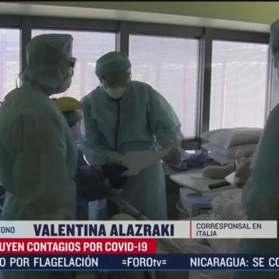 Se registran 260 nuevas defunciones de coronavirus en Italia