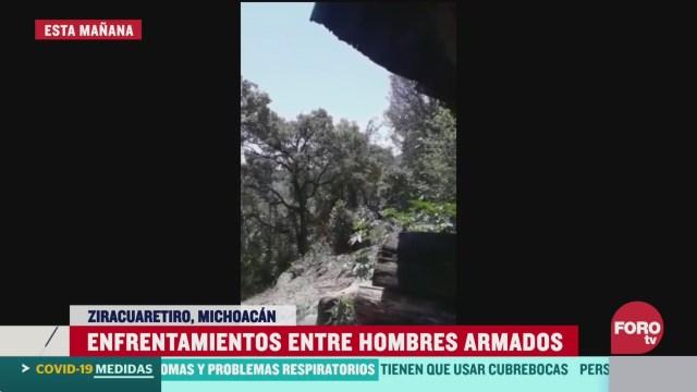 FOTO: 4 de abril 2020, se reportan diversos tiroteos en ziracuaretiro michoacan