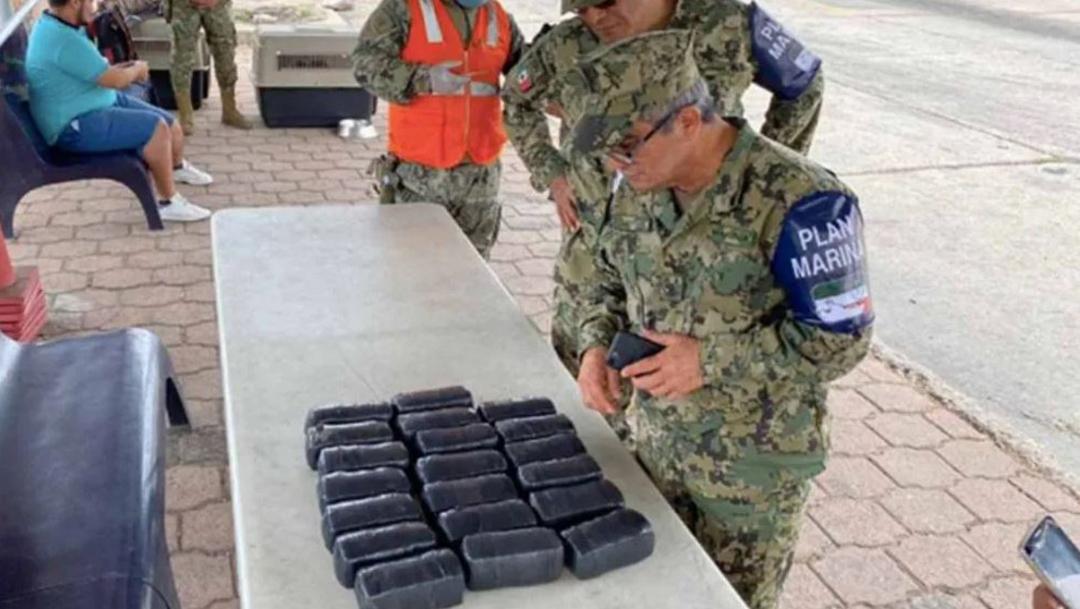 Elementos de la Marina incautan más de tres millones de pesos en Sinaloa. (Foto: Especial)