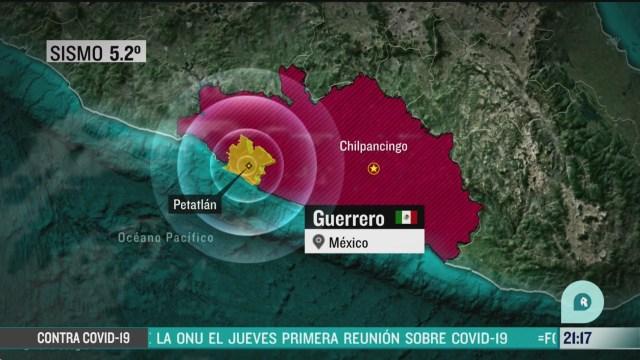 Foto: Sismo con epicentro en Guerrero se sintió en la CDMX 6 Abril 2020