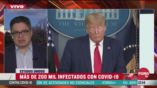 trump advierte semanas muy duras para eeuu por el coronavirus