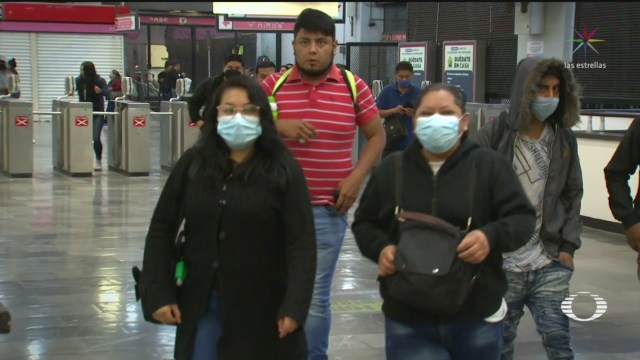 Foto: Coronavirus Metro Cdmx Usuarios Cubrebocas Obligatorio Medida 17 Abril 2020