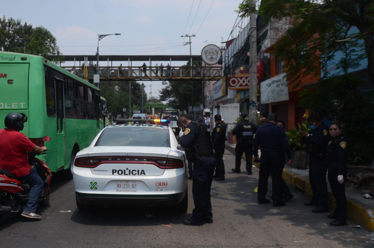 Foto: Se registran dos balaceras en la CDMX; hay dos detenidos y un herido, 14 de mayo de 2020, (S.Servín)