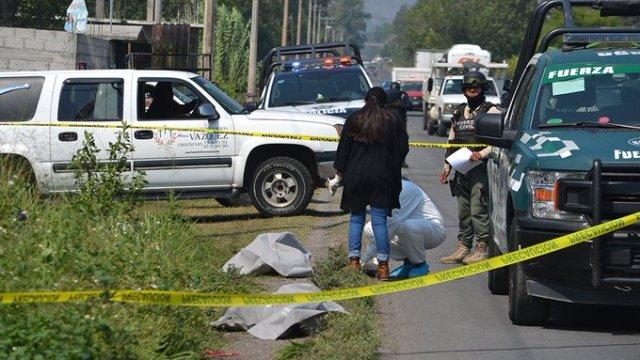 Foto: Encuentran bolsas con restos humanos en carretera de Veracruz, 22 de mayo de 2020, (@TuMundoADiario)