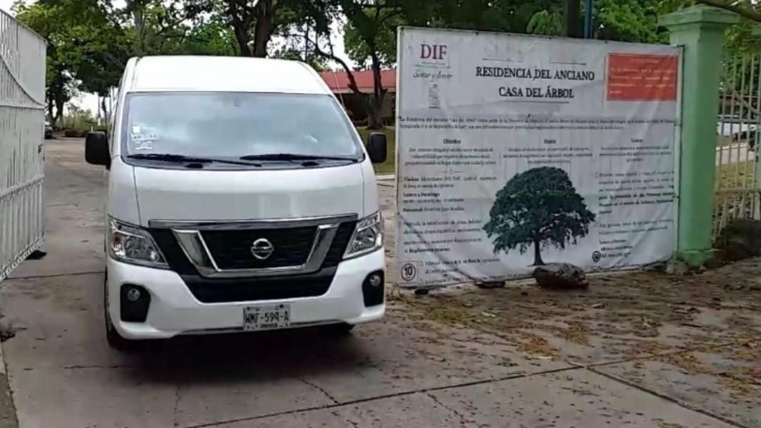 Residencia para adultos mayores Casa del Árbol en Villahermosa, Tabasco. Twitter/@XEVATabasco