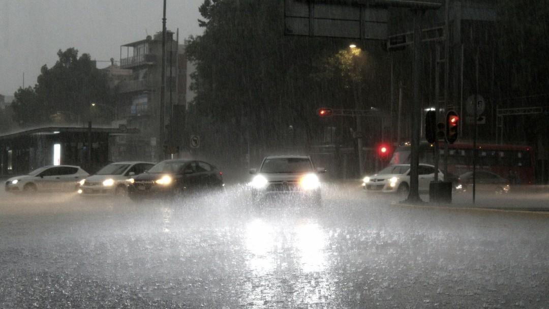 Lluvia en la zona centro de la CDMX. Cuartoscuro
