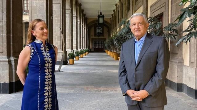 El presidente Andrés Manuel López Obrador y su esposa felicitaron este 10 de mayo a todas las mamás de México. (Foto: @lopezobrador_)