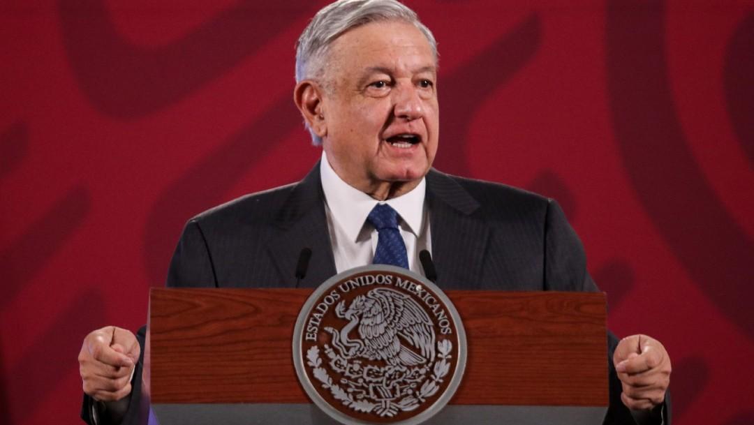 Andrés Manuel López Obrador, presidente de México, en conferencia de prensa matutina. (Foto: Cuartoscuro)