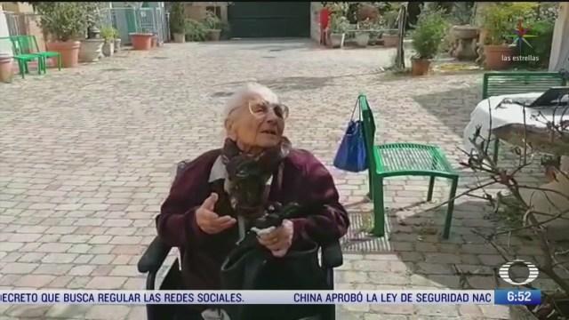anciana de 104 anos sobrevive al covid en italia