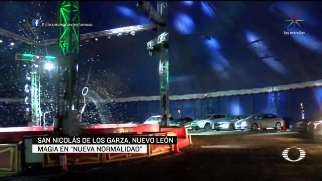 Video: Instalan primer autocirco en Monterrey