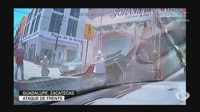 Video: Ataque a patrulla de Guadalupe, Zacatecas