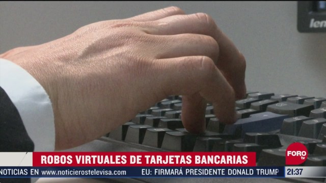 aumentan robos virtuales de tarjetas bancarias