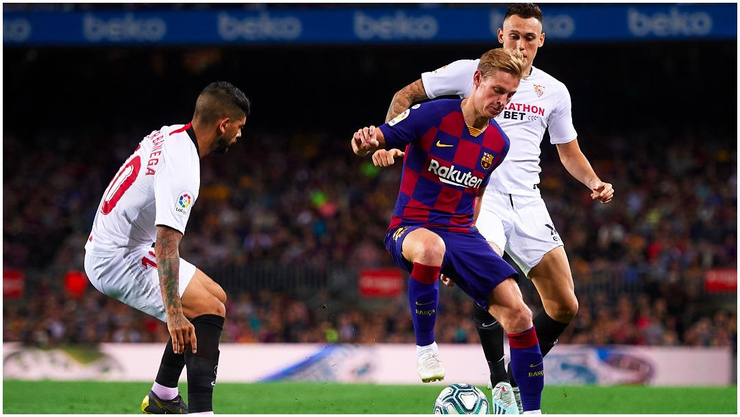 Imagen: Cuatro jugadores del Sevilla hicieron fiesta con más de 10 personas, 24 de mayo de 2020 (Getty Images)