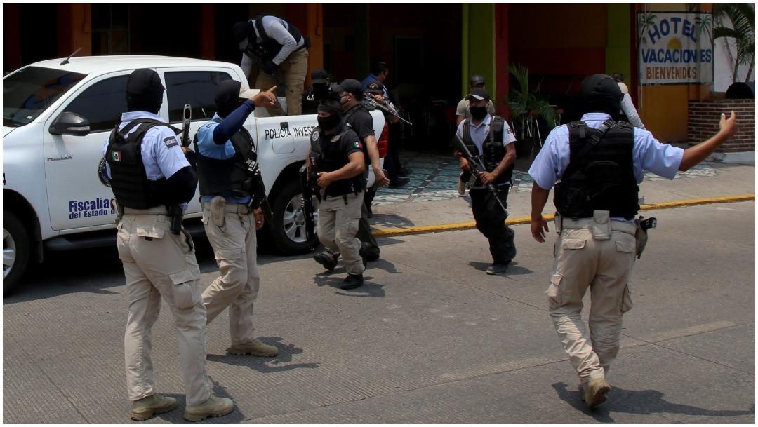 Imagen: La Policía de Guerrero realiza operativos para evitar congregaciones, 24 de mayo de 2020 (CUARTOOSCURO)