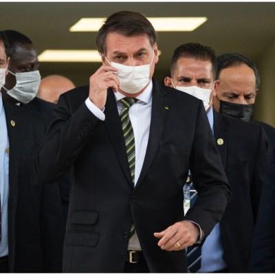 Bolsonaro cancela parrillada multitudinaria tras muerte de 10 mil personas en Brasil por COVID