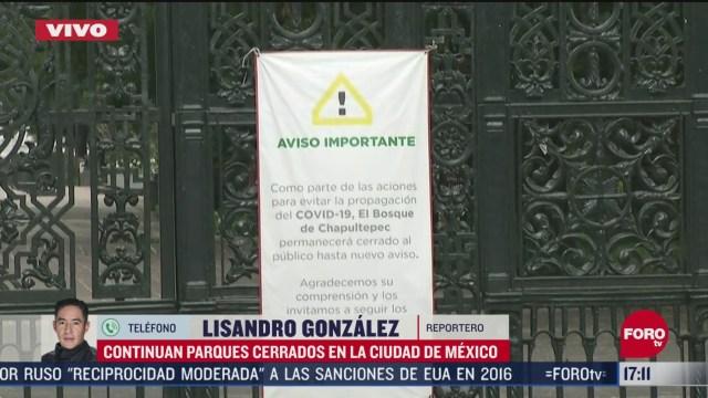 FOTO: 31 de mayo 2020, bosque de chapultepec reabrira sus puertas el martes 2 de junio con restricciones
