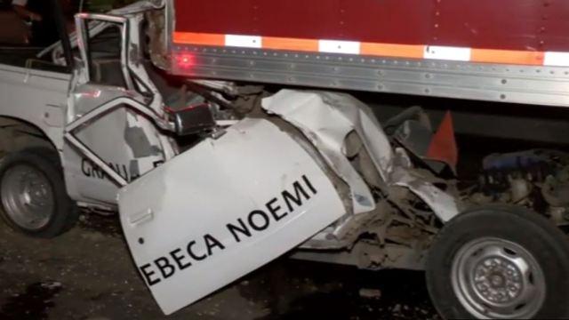 Foto: Fuerte choque deja una persona muerta en Zapopan, Jalisco, 29 de mayo de 2020, (Noticieros Televisa)