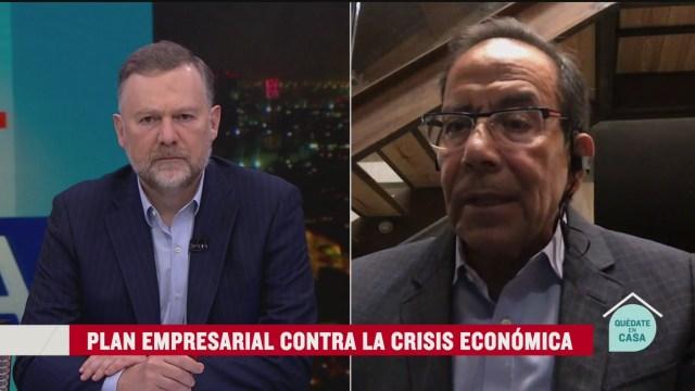 Foto: CCE: Acuerdo nacional crisis económica/sanitaria 6 Mayo 2020