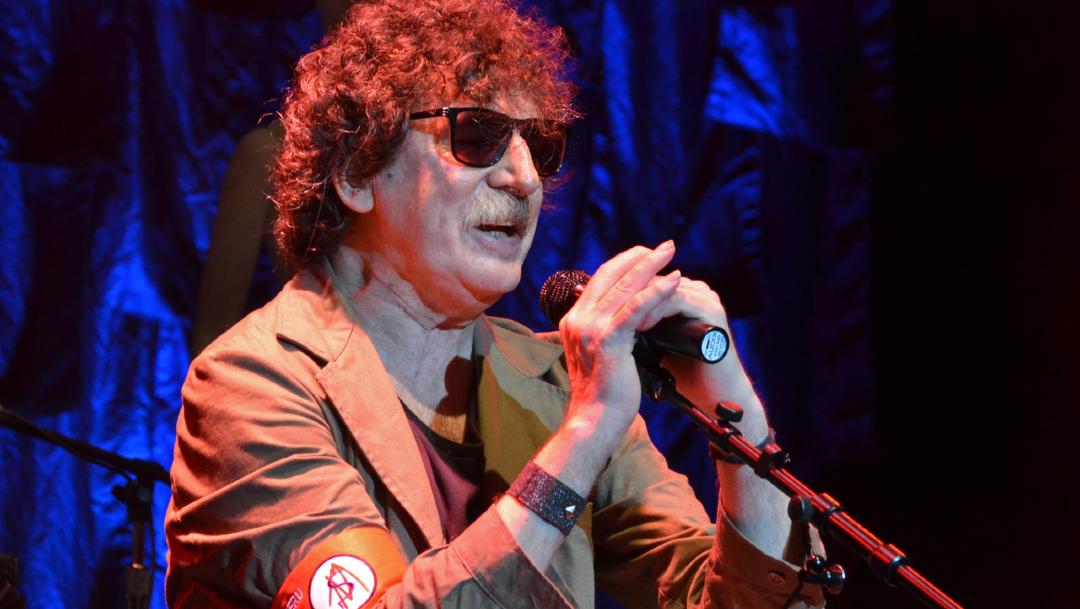 Fotografía de archivo del rockero argentino Charly García. (Foto: AP)